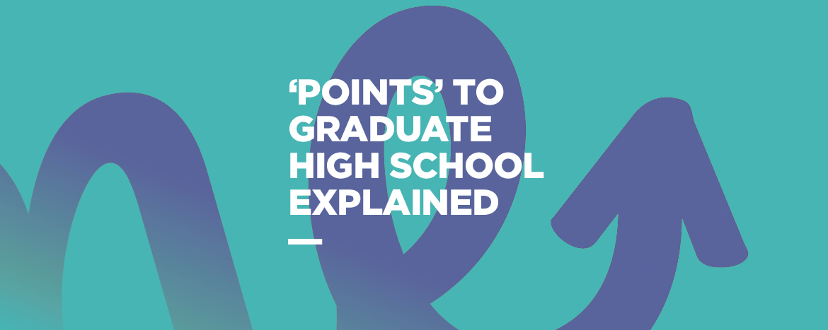 'Points' to Graduate High School explained